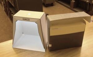 scanbox and manuscript box