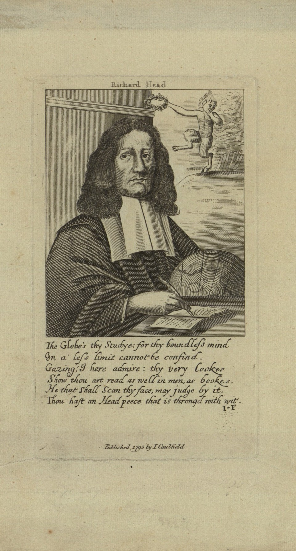 Historic Book Person Of The Week 18 Richard Head