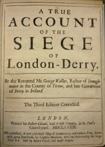 Account of the Siege of London-Derry