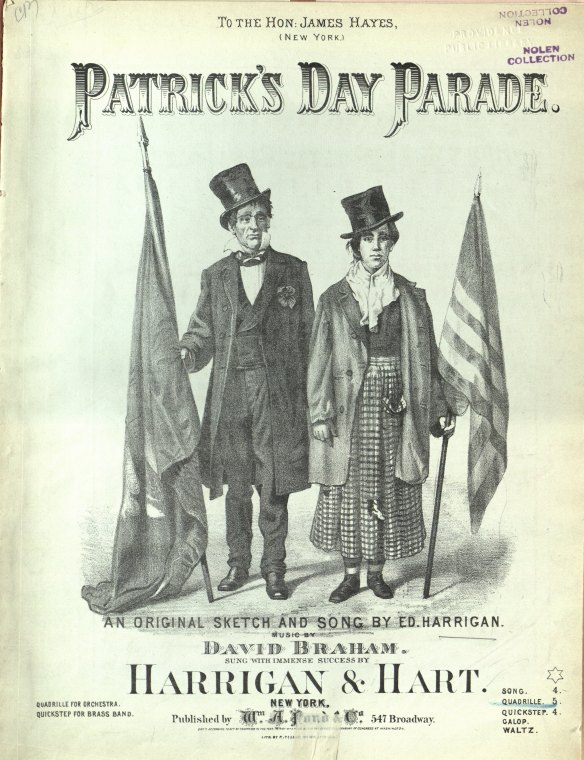 St. Patrick's Day sheet music