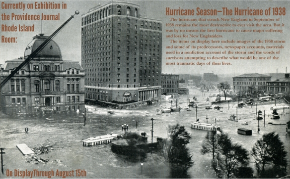 Hurricane exhibition poster