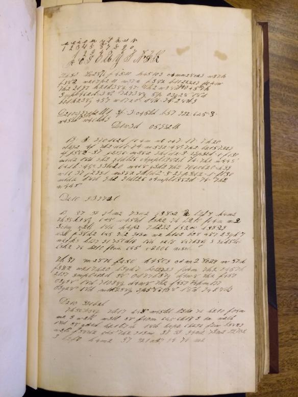 Marcus journal, p. 1