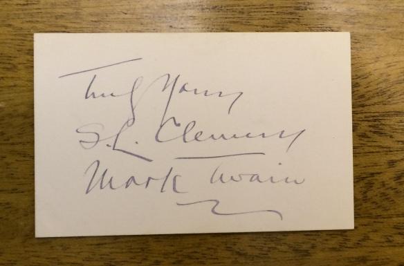 Twain Signature