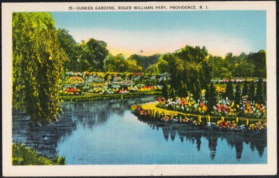 Sunken gardens, Roger Williams Park, Providence, R.I.