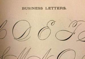 English archivesblogs it features samples of script promissory notes verses for autograph albums and these elegant business letters spiritdancerdesigns Image collections